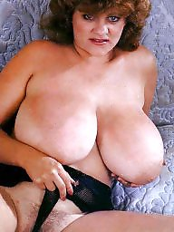 Vintage, Mature boobs, Mature big boobs, Vintage mature