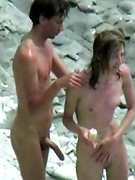 Nude beach, Couples