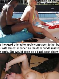 Beach, Interracial, Cuckold