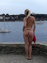 Öffentlichkeit amateur blinken, Ich nackt, Amateure nackt, Amateure public