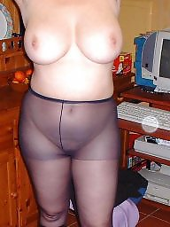 Mature, Pantyhose, Wife, Stockings, Mature amateur