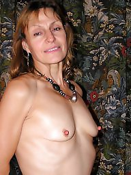 Mature nipples, Amateur mature, Older