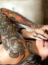 X tatoo, Tatooed girl, Tatoo girls, With girl, With boobs, With boob