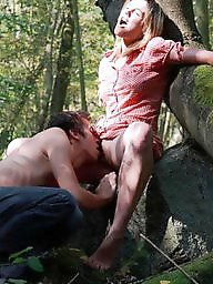 Outdoor, Amateur blowjob, Outdoors, Public, Public nudity, Naughty