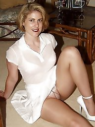 pic young and Upskirt stockings