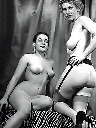 Posing, Vintage, Pose