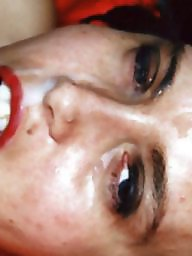 Face, Milf facial, Milf face, Messy