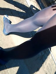 Candid, Shoes, Nylon, Shoe, Nylons