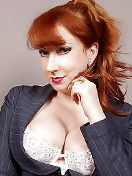 Mature redhead, Big boobs mature, Perfect, Mature big boobs, Lady, Big mature