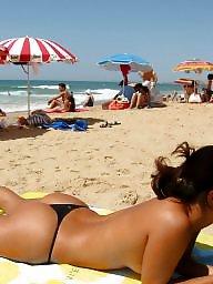 Beach voyeur, Candid beach