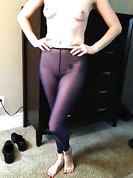 Sheer, Leggings, Amateur stockings, Leg