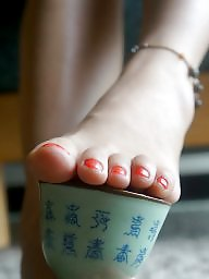 Asian, Feet, Stocking