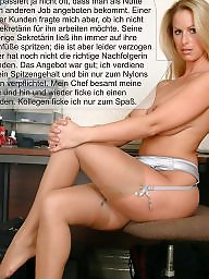 Milf captions, Nylon, Nylon captions, Caption, Milf nylon, Nylons