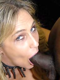Cock, Sucking, Busty, Suck, Mature interracial