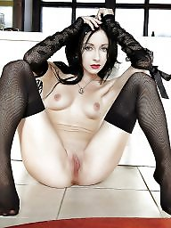 Wide open, Nylon mature, Mature stocking, Mature nylon, Wide, Mature stockings