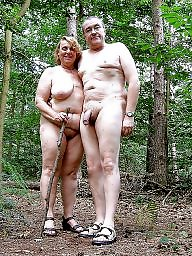 nudist camp couple in Mature
