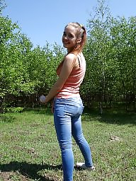 Queening, Queen p, Jeans amateur, In jeans, G-queen, Amateurs jeans
