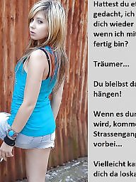 Femdom caption, German caption, German captions, Femdom captions