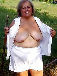 Outdoor, Mature outdoors, Granny outdoor, Grannys, Mature outdoor, Naked