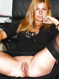 Wide open, Wide, Milf nylon, Nylons, Stocking milf