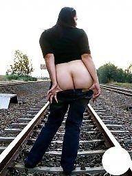 Railroad, Sluts and mature s, Slut flashing, Slut flash, Slut and mature, Matures flashing