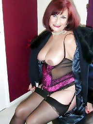 Granny, Granny stockings, Hanging tits, Mature stockings, Granny pussy, Granny stocking