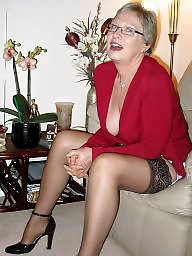 Mature stockings, Mature stocking, Teasing, Mature tease, Stockings, Neighbour