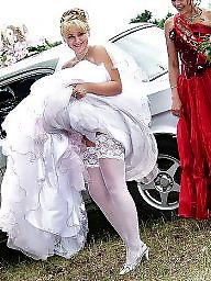 Mature upskirt, Wedding