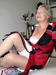 Sexy grannys in stockings