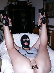 With fun, Milf masked, Milf mask, Milf fun, Milf bondage, Mask mature