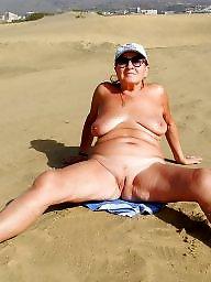Beach mature, Mature beach, Beach, Public mature