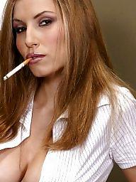 Smoking, Mature femdom