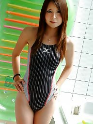 Asian teen, Swimsuit