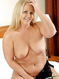 Mature tits, Mature blonde, Saggy mature, Saggy, Blonde milf
