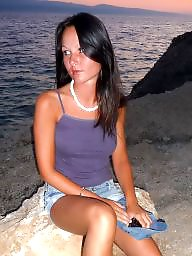 Titted brunette, Tit on tit, Teens on, Teens holiday, Teens brunette, Teen on