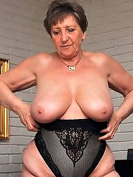 Granny boobs, Granny stockings, Big boobs, Granny stocking, Granny, Mature stocking