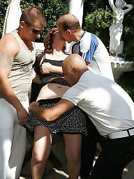 Mother son, Mature sex, Gangbang