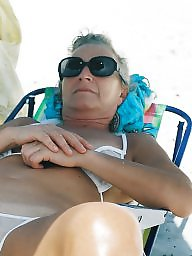 Mature beach, Public, Amateur mature, Mature, Beach