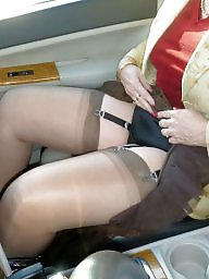 Girdles, Mature girdle, Stocking, Stockings, Mature stockings, Stockings upskirt