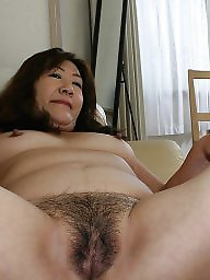 asian pussy Mature hairy