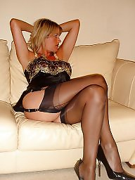 Mom, Moms, My mom, Cougar, Mature stockings