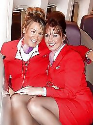 Stewardess, Upskirt