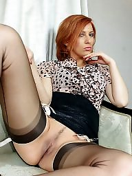 Mature stockings, Fuck, Mature stocking
