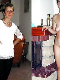 Milf dressed undressed, Dressed, Undressed, Sexy mature, Dressed and undressed, Dress
