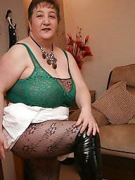 Boots, Bodystocking, Bbw boots, Bbw mature, Bodystockings, Mature boots