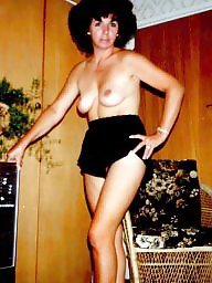 Vintage stockings, Vintage milf, Vintage