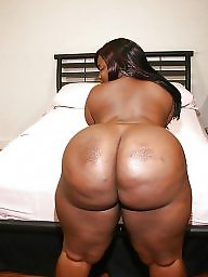 Huge ebony bbw buttocks