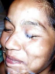 Amateur facial, Milf facial