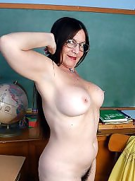 Hairy mature, Mature hairy, Teacher