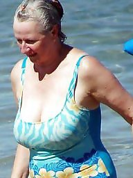 Granny beach, Mature beach, Granny big boobs, Beach boobs, Beach granny, Beach mature